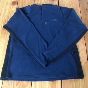 The North Face quarter zip fleece